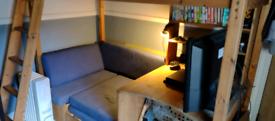 Kids high sleeper Cabin Bed