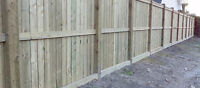 FENCES!!!!!!! Great quality.  Great rates.  Starting from $30/ft