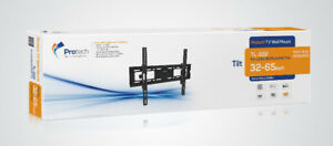 TV WALL MOUNT TILTING 32-65 INCH TV- HOLD UP TO 65KG