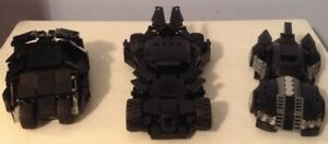 BATMAN LEGO CUSTOM BUILT BATMOBILES