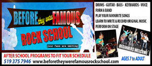 Famous Pop and Rock Music Summer Camps Owen Sound