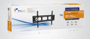 TILTING TV WALL MOUNT BRACKET 37-70 INCH TV HOLD 132 LB (60 KG
