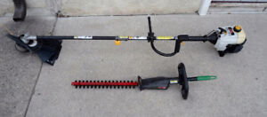 RYOBI GAS TRIMMER WITH ATTACHMANT