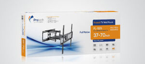 FULL MOTION TV WALL MOUNT ARTICULATING SWIVEL FOR 37-70 INCH TVs