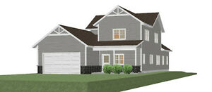 New home for sale in Parry Sound (currently under construction)