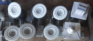 LED Pot Lights, 8w, dimmable, and directionable