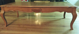 Knotted Pine Coffee and End Tables
