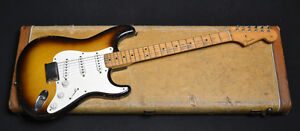 vintage 1957 Stratocaster electric guitar priced in $US