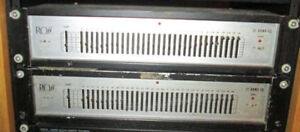 Ross 31 Band Rack Mount Equalizer -$55 each or $100 for the pair