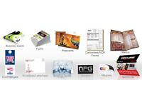 Printing services gumtree east london printers banner business card leaflet flyer postcard poster reheart Images