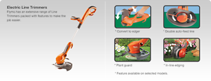 Flymo electric line trimmer converts 3ways brand new Revesby Bankstown Area Preview