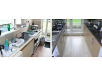 Complete kitchen refurbishments
