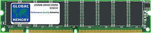 256mb-Cisco-Dram-DIMM-AS5400-AS5400HPX-Universal-Puerta-mem-256m-as54