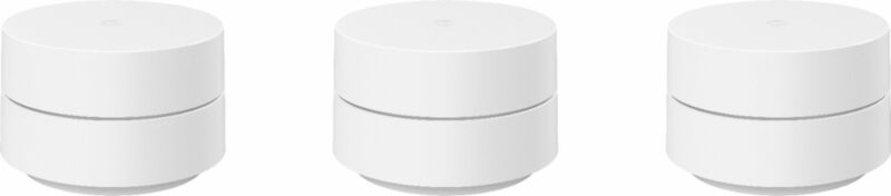 Google Wifi - Whole Home Wi-Fi System - 3-Pack - White