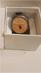 Fossil men stainless steel  watch used