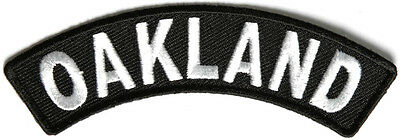 Iron Rocker - Oakland Rocker Iron On Patch - 4