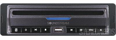 Soundstream VDVD-165 Single-DIN DVD Player with 32 USB Playb