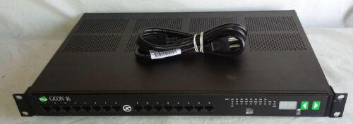 DIGI C/X Rack 16 50000598-01 C/CON-16 Used