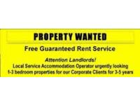CALLING ALL LANDLORDS GARAUNTEE UPTO 5 YEARS RENT PAID HASSLE FREE