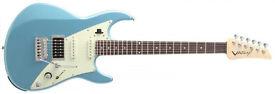 Line 6 JTV-69 James Tyler Variax Modelling Electric Guitar (Lake Placid Blue)