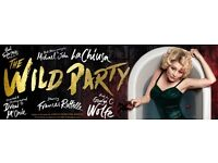 The Wild Party - London West End -Stalls row C - 25th March