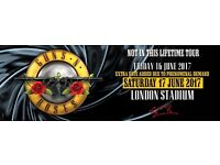 2 x Seated Tickets for Guns n Roses 'Not in this Life time' tour 17th June @ at Olympic Park London