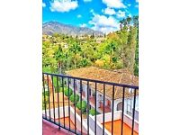 Beautiful Mijas Apartment. In stunning Mijas and 5mins from Fuengirola, 20mins from Malaga Airport