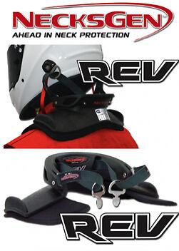 NecksGen REV Head & Neck Restraint (MEDIUM) Large also available from seller