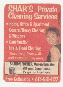 Come Home To A Clean House Cornwall Ontario image 1