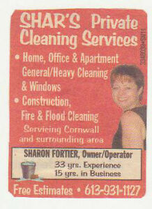 20 years in Business, bonded and insured