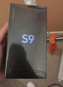 NEW YEAR CLEARANCE►BRAND NEW SEALED SAMSUNG GALAXY S9 64GB GREY►