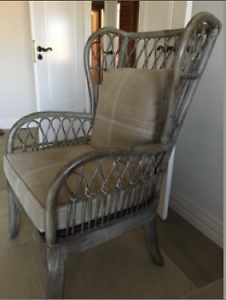 Beautiful cane arm chairs X 2 East Fremantle Fremantle Area Preview