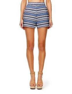 Blue and white Kookaï Shorts Ivanhoe Banyule Area Preview