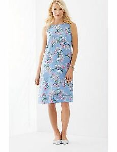 Bnwt - J Jill Linen A-Line Sleeveless Dress Size XL