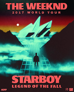 THE WEEKND - 2 STARBOY SEATS TICKETS  8/12 - $700