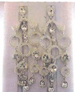 Beautiful MMcrystal earrings with Swarovski elements