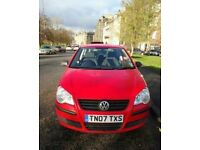 Red VW POLO 1.2, 3 DOOR HATCHBACK (GREAT LEARNER/FIRST CAR WITH NEW STEREO)