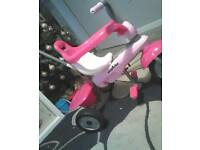 3 in 1 smartrike with parent control handle