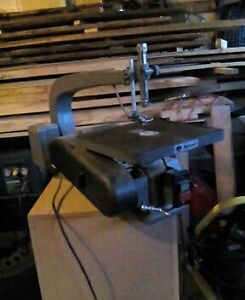 "24"" Rockwell variable speed scroll saw"