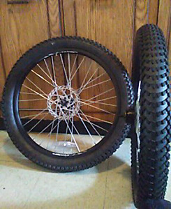"""Brand new 24"""" fat tires. $35!!"""
