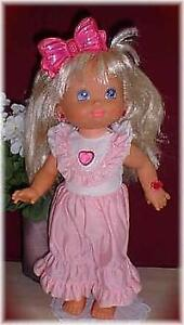 vintage pj  sparkles doll  good shape