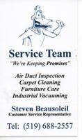 Service Team Professional Carpet & Air Duct cleaning