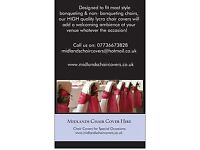 Midlands Chair Cover Hire & Venue Decor: Nottingham | Derby | Leicester