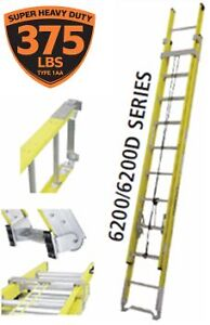 New fetherlite 16ft extension ladder 375 lbs