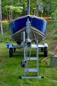 2008 Princecraft Fishing Boat-4stroke- 9.9 Motor & galv trailer