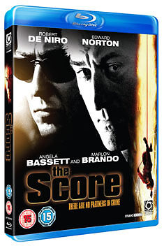 THE SCORE - BLU-RAY - REGION B UK
