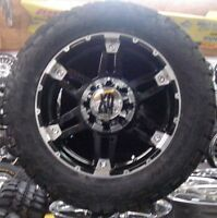 """20"""" XD797 w/ 33"""" Tires + Full size spare Dodge Ram"""