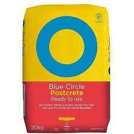 POSTCRETE - BLUE CIRCLE - 20KG BAG