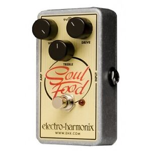 EHX Soul Food Overdrive Pedal
