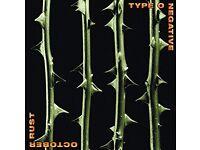 TYPE O NEGATIVE OCTOBER RUST 2XLP BRAND NEW LTD EDITION (2013) SEALED